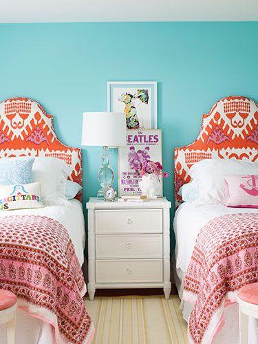 triad color scheme, dayka robinson designs blog, via countryliving.com
