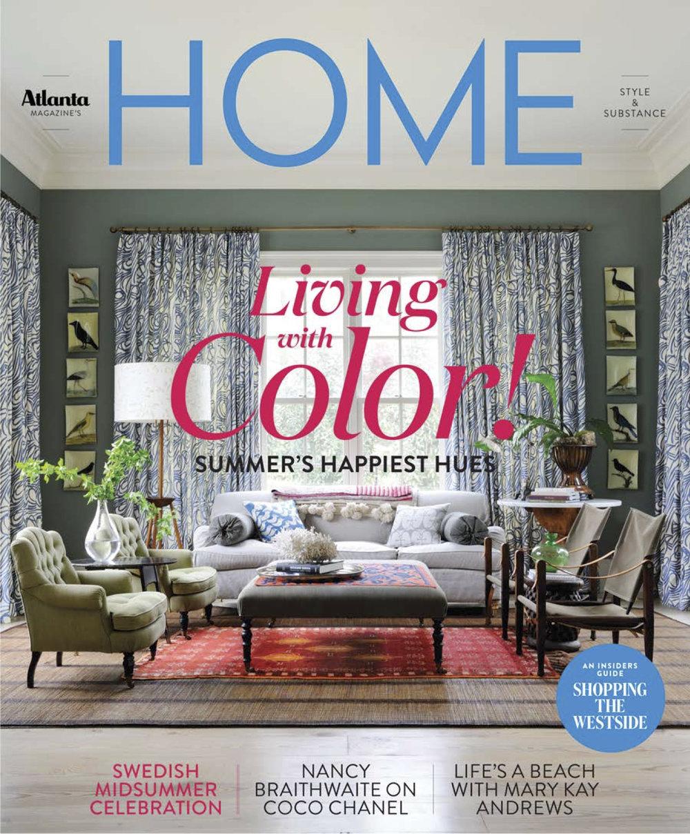 Dayka Robinson, Atlanta Magazine Home SUMMER_lo