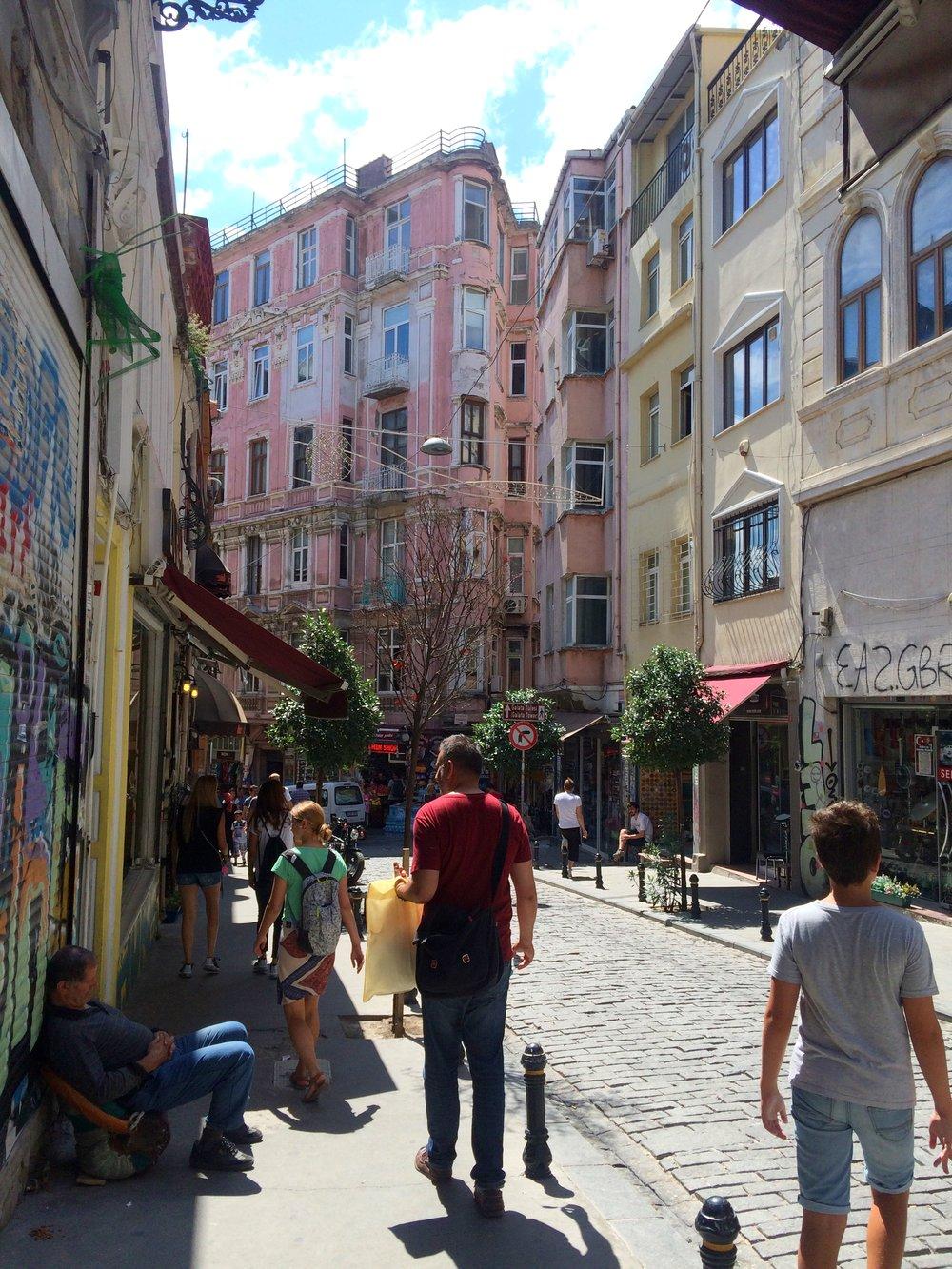 Istanbul Istikal St 2015