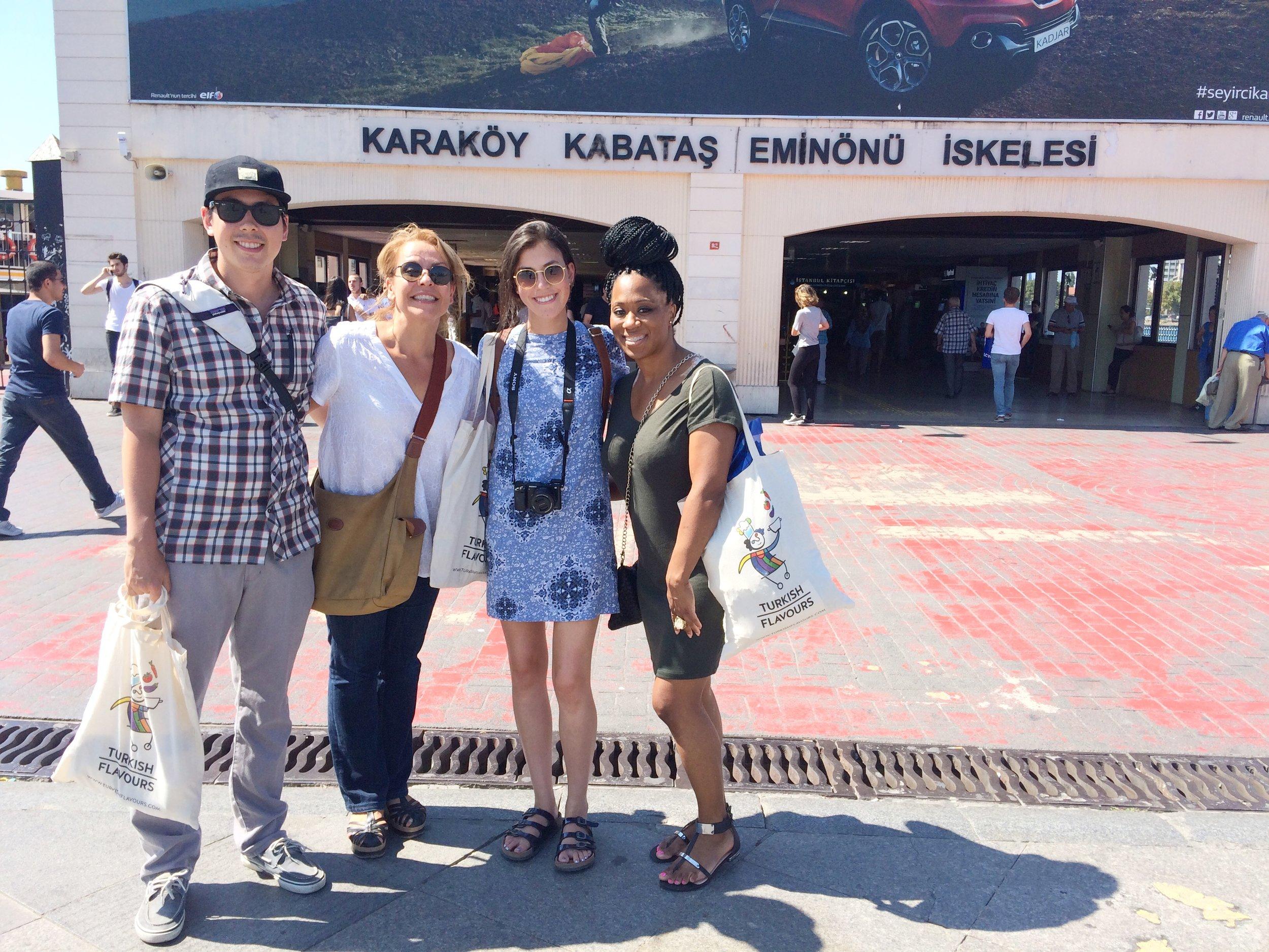 Istanbul Turkish Flavors Tour 2015 Dayka Robinson