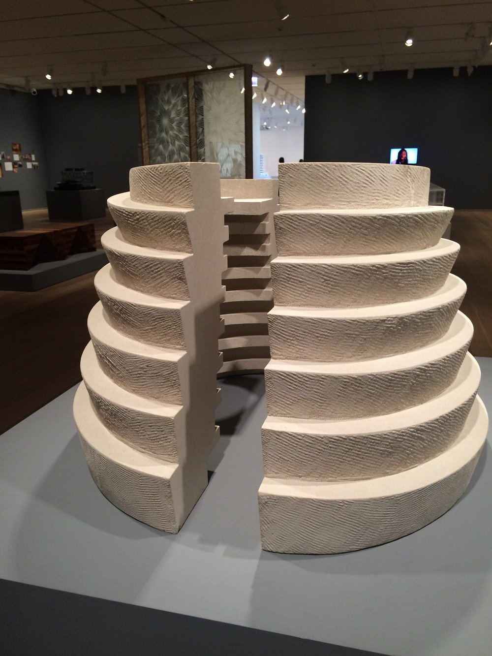 Dayka Robinson David Adjaye exhibit, Art Institute Chicago 12:2015