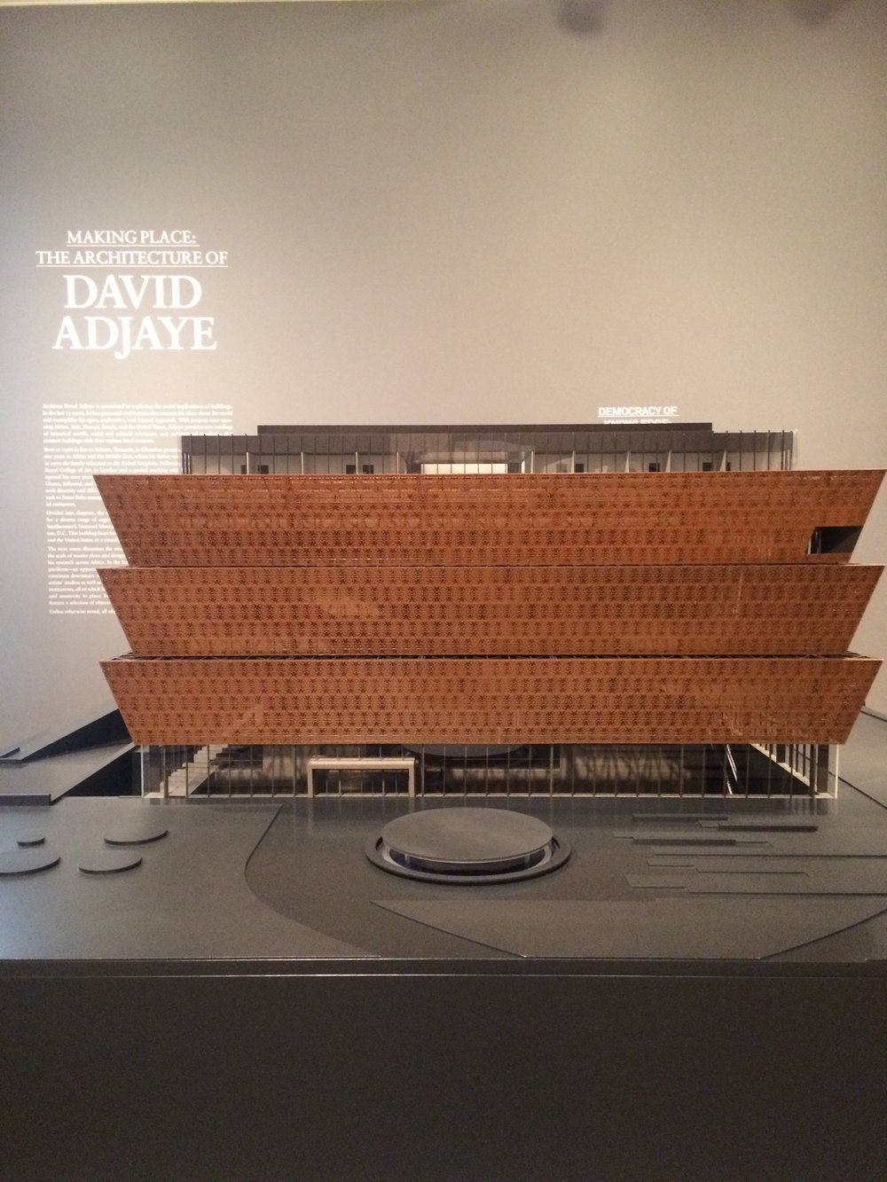 Dayka Robinson David Adjaye Smithsonian National Museum African American History, Art Institute of Chicago 2015