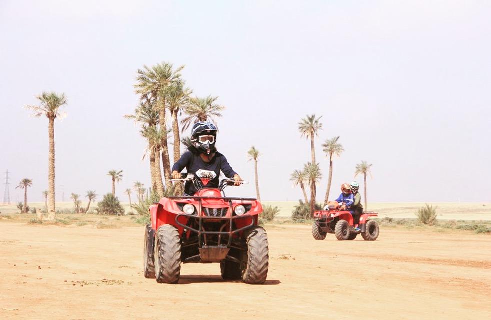 Dayka Robinson Marrakech Morocco Agafay Desert Quad bike ATV 2018.JPG