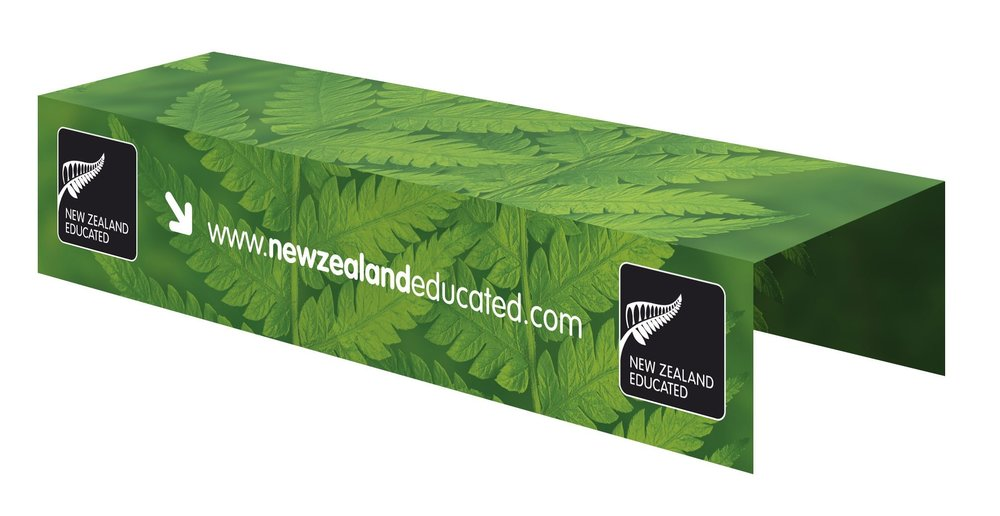 Fabric Table top for Education NZ