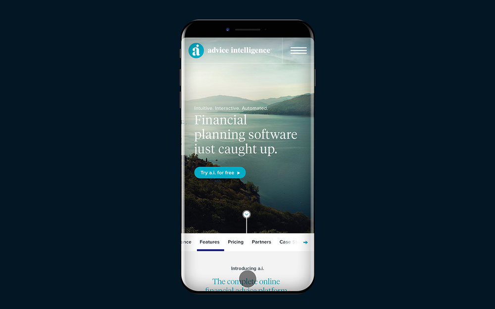 Financial planning software   AI                  View project »