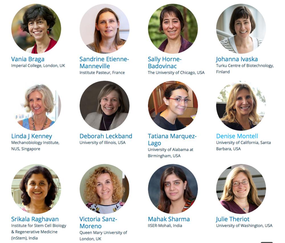 Women in Science satellite speakers