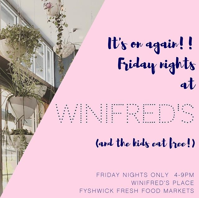 It's that time of year again! 🌞 Friday nights in the inner south just got a lot better (& you can thank our pregnant chef for the kids eating for free part, she's more clucky than a brooding hen!)