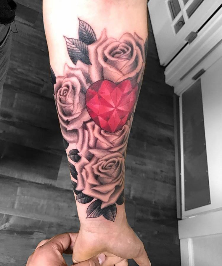 8 Rose Hearts 4.JPG