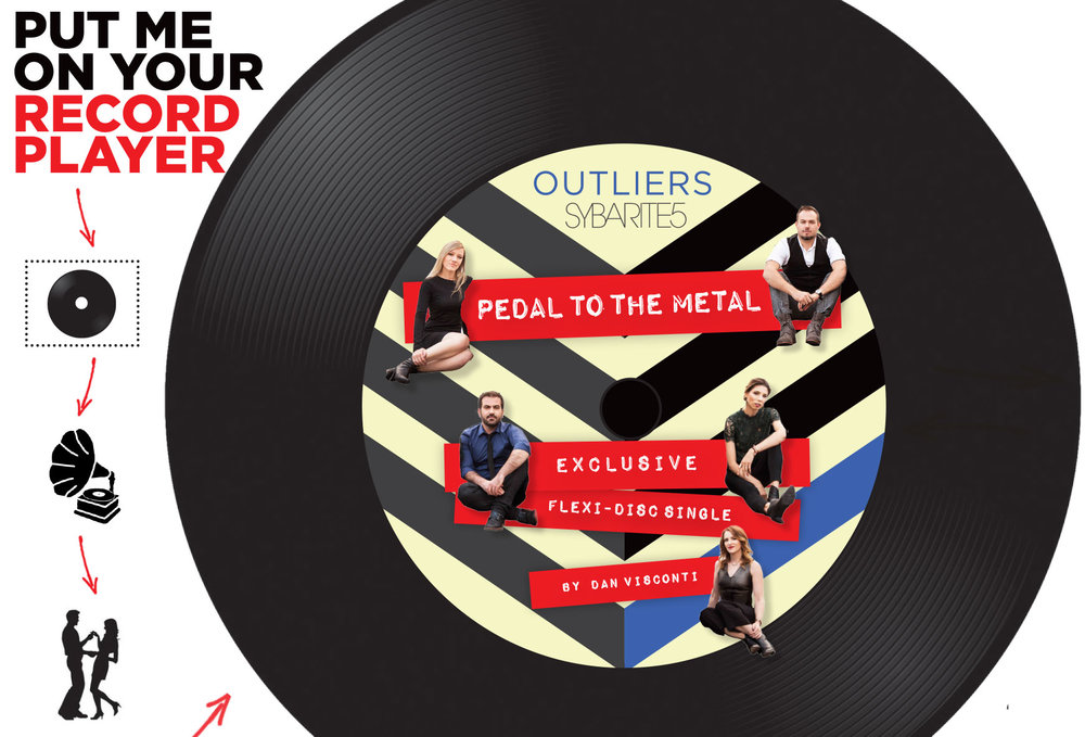 <b>OUTLIERS</b> <br><small>Postcard FLEXI DISC + Full Download</small> <br><b>$12</b>
