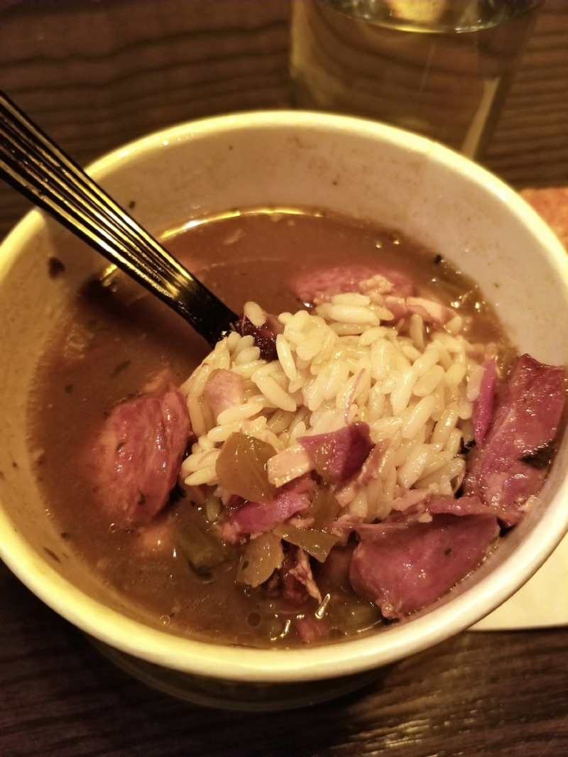 The Chicken & Andouille Sausage Gumbo