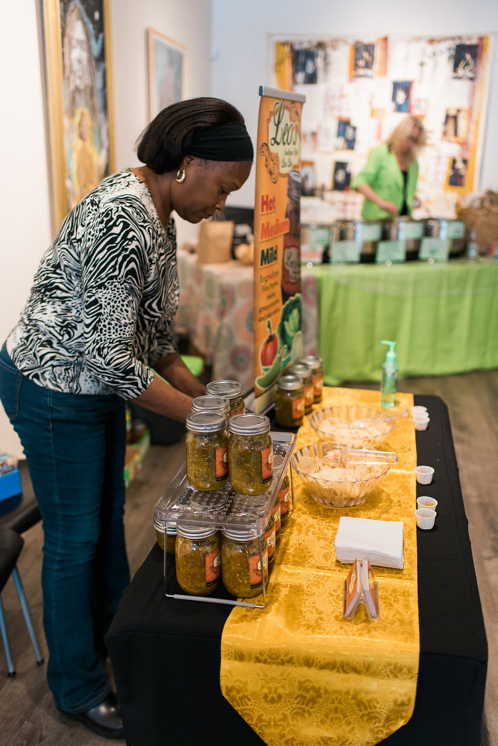 Debra Griffin at the Detroit Made Market on March, 17 2018.