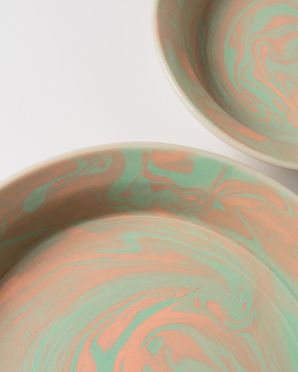 Marbled Pie Dishes