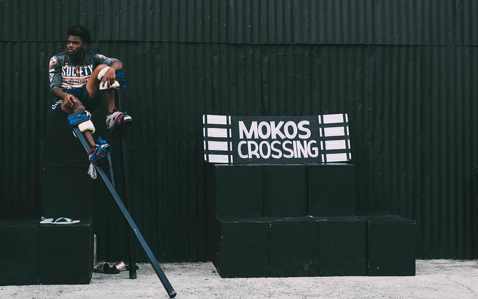 2 Bros Master class with Touch D Sky Moko Jumbie group, Big Black Box, Woodbrook, Trinidad and Tobago, 2017. Photo: #1000mokos