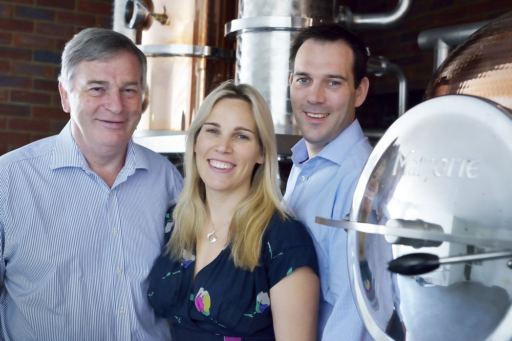 The Hayman family of gin makers
