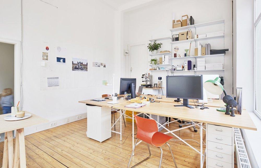 Innenarchitekturaufnahme: Caspar Sesslers Atelier in der Herderstraße in Bremen