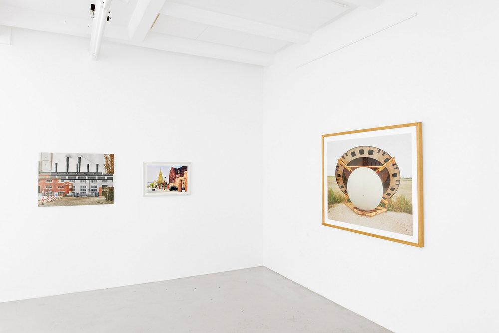 Ausstellungsansicht: Fotoarbeiten von Caspar Sessler in der Weserburg | Museum für moderne Kunst