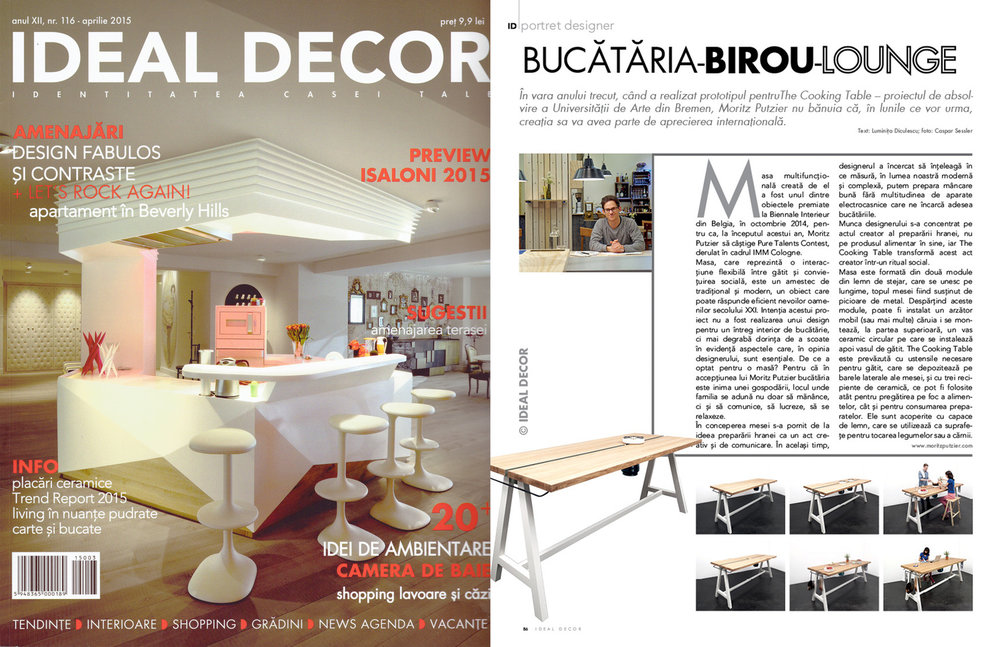 Tearsheet: Ideal Decor, 2015