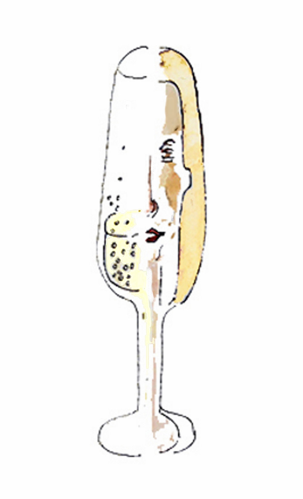 Half Woman, Half Champagne