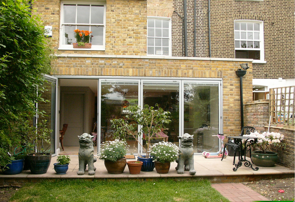 Kitchen Extension - Greenwich South Street SE10.