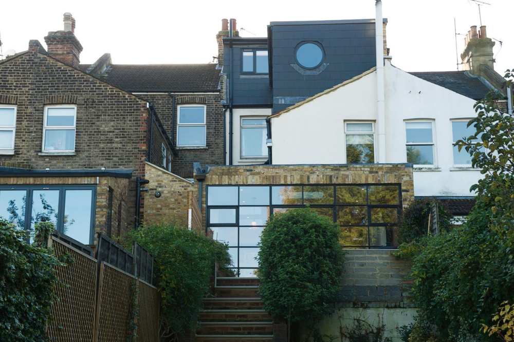 Completed loft extension (and rear extension) on Nithdale Road.