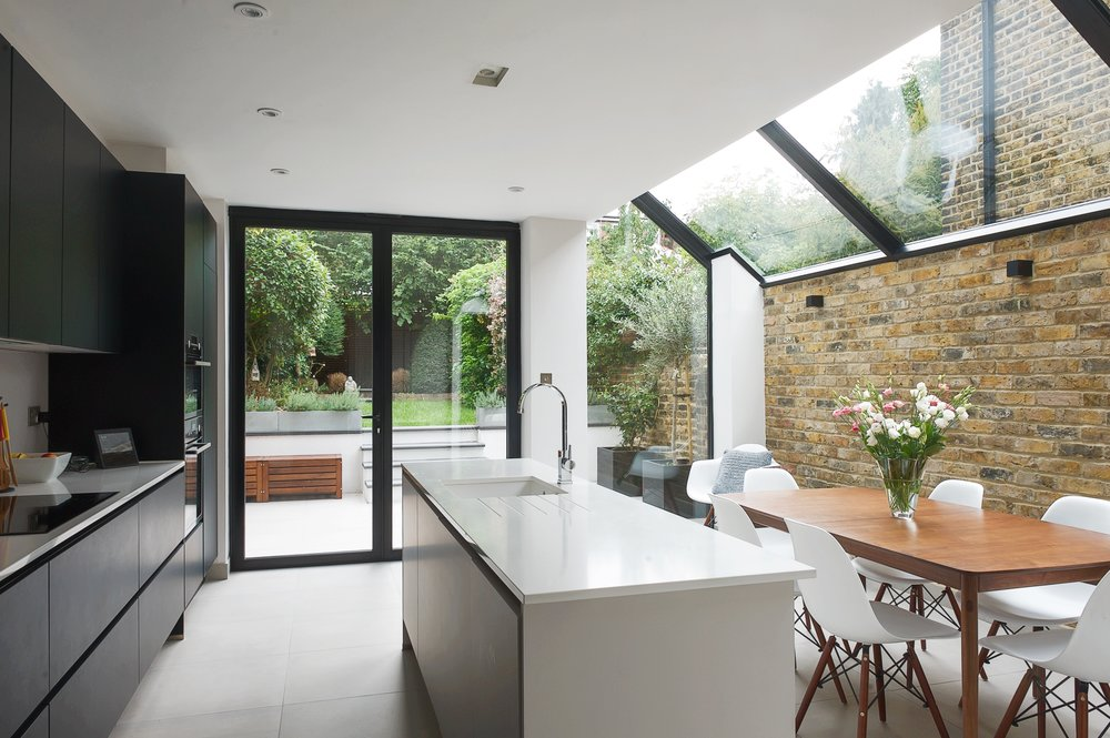 Kitchen Extension - 29 Swallowfield Road, London.