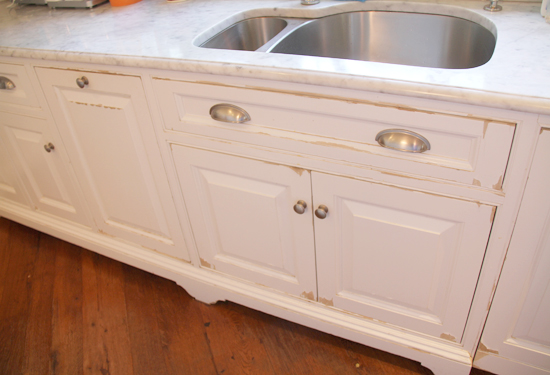 This Five Year Old Shop Built Cabinetry Is Showing Lots Of Wear U0026amp;  Chipping