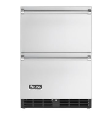 "Viking 24"" Refrigerated Drawers VRDI1240DSS"
