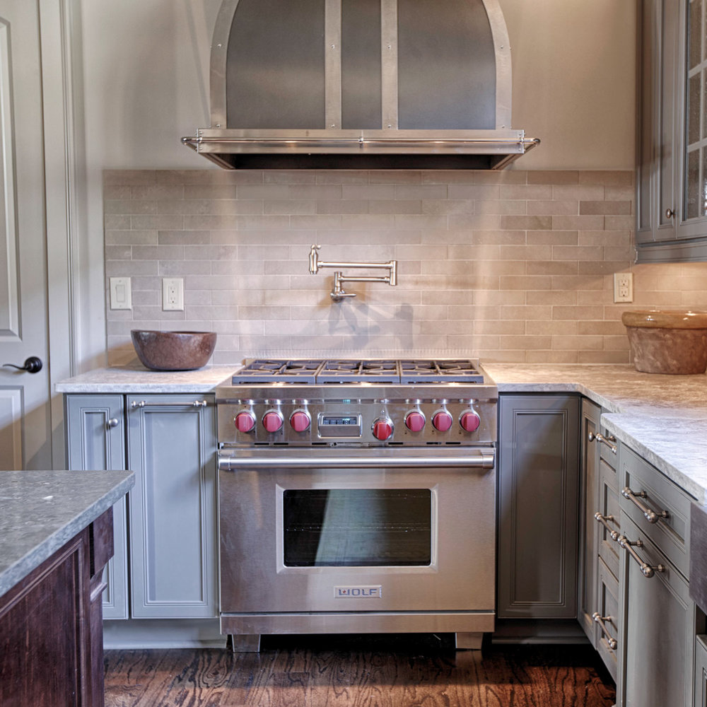 Small details transform a well-built kitchen into a work of art.