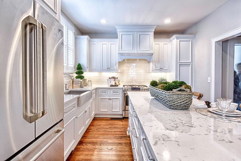 Kitchen design and historic renovation.