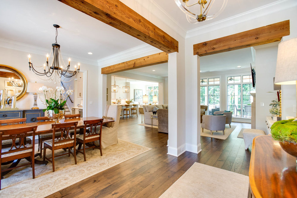 An open concept home in the Waterfall neighborhood of Tuscaloosa, Alabama.