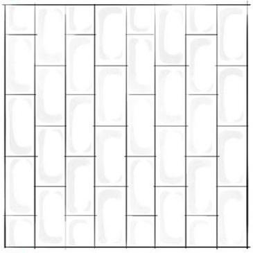 Vertical Subway Tile Pattern