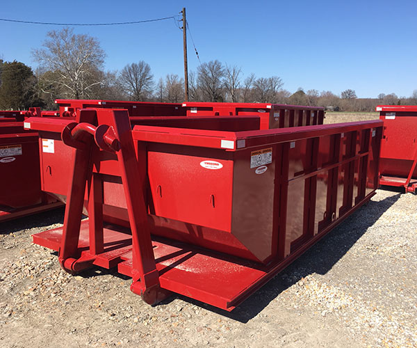 15 yard dumpster waste container