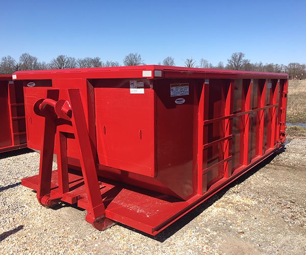 20 yard dumpster waste container