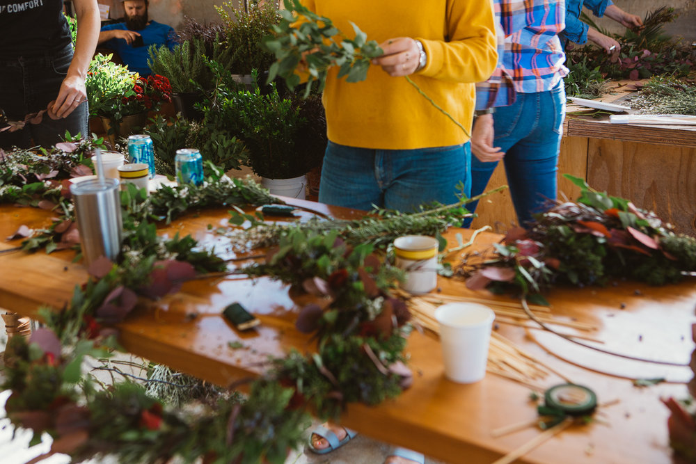 KKDW Wreath Workshop