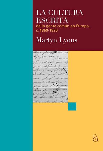v.La cultura escrita de la gente comun - Lyons.jpg