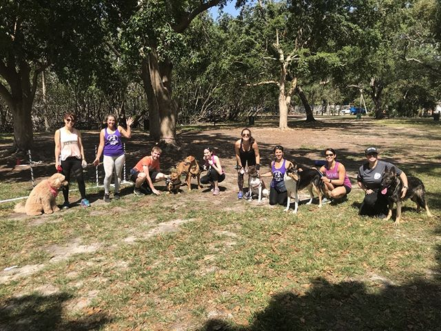 Great Job everyone at BarkFit - wonderful class with a good workout ✌️💜🐕