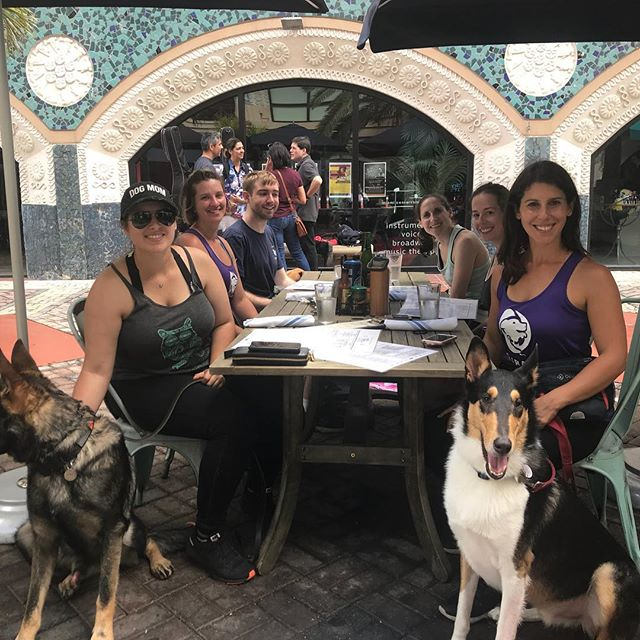 Brunch with BarkFit Family ✌️💜🐕 Dog Life = Better Life 💜🐕