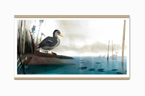 Ugly Duckling Poster #2 -  $ 16,00