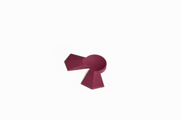 Walnut Duckling feet alone, Burgundy -  $ 5.50