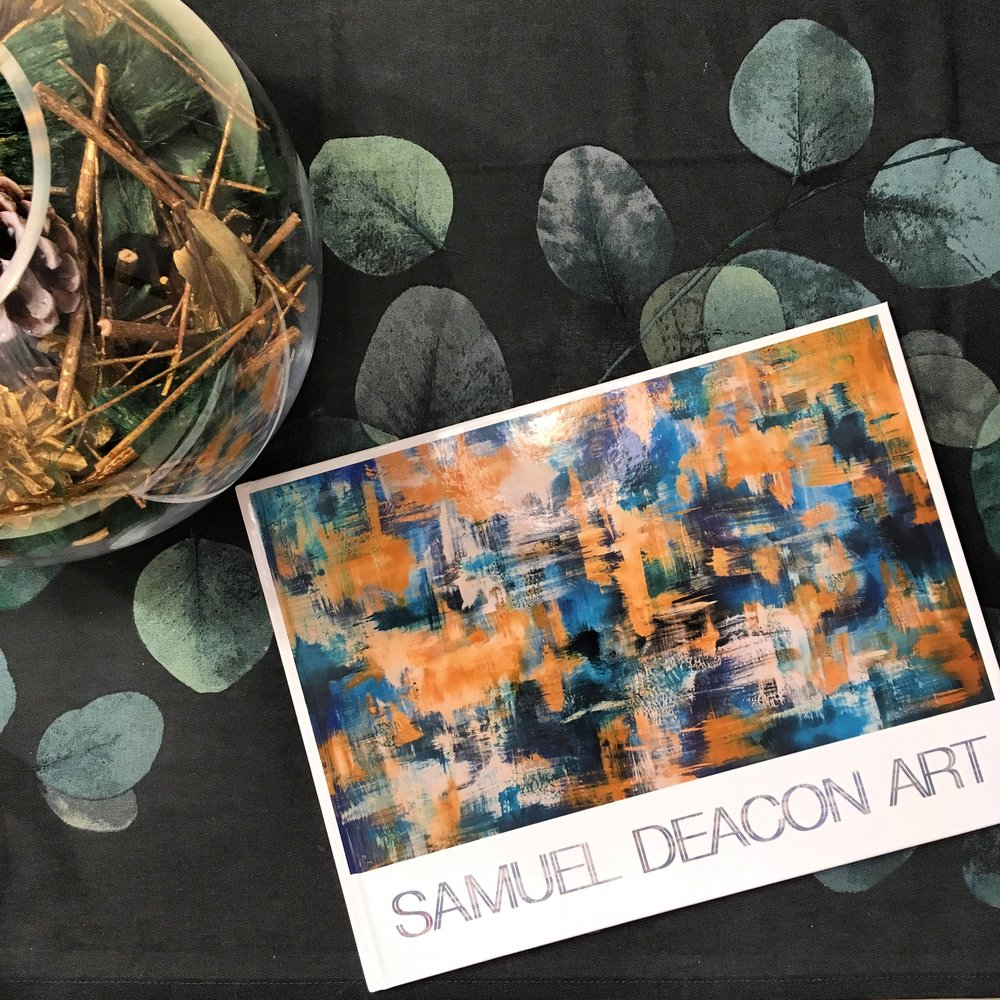 SamuelDeaconArt The 17-18 Collection Art Book