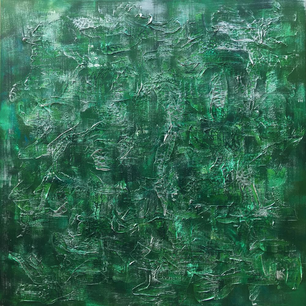 Misty Woods - SamuelDeaconArt