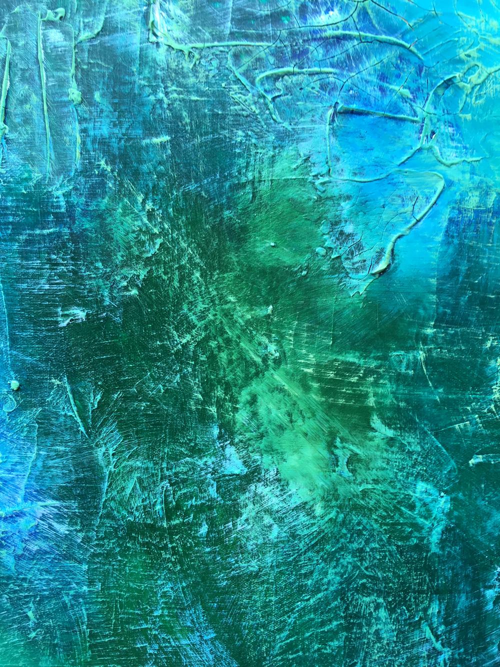 Velvet Undergrowth 2 - Detail SamuelDeaconArt