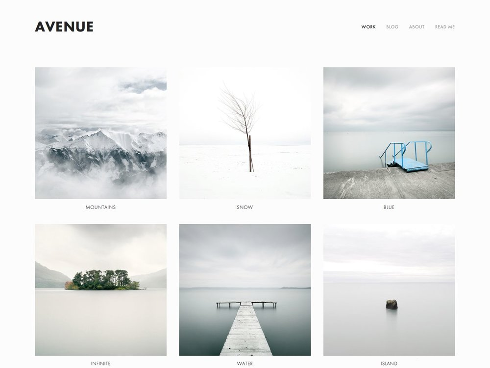 squarespace avenue template Avenue Squarespace Template Analysis — Using My Head – Squarespace ...