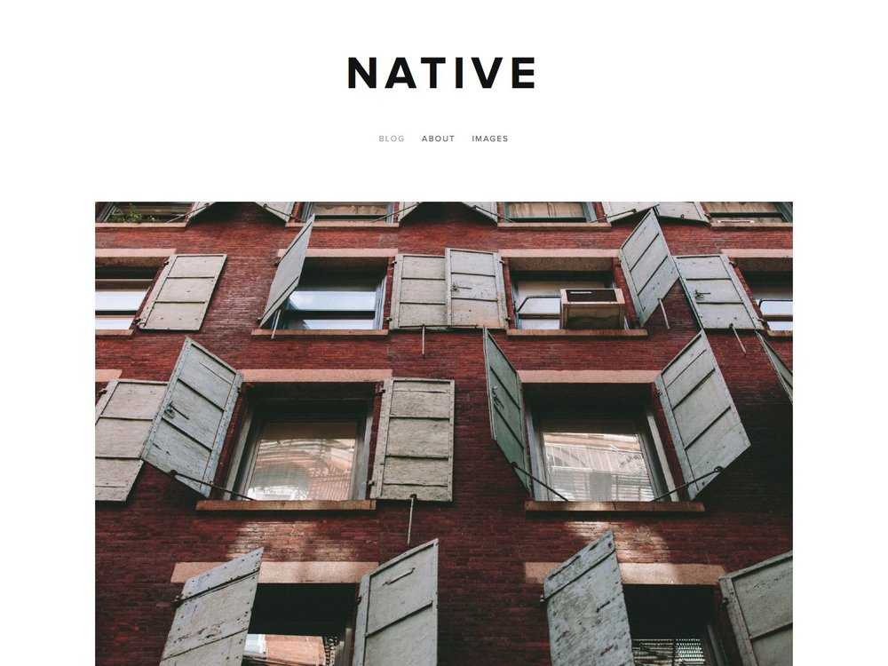 Helpful notes on the distinctive features of the Native template - Updated March 2018