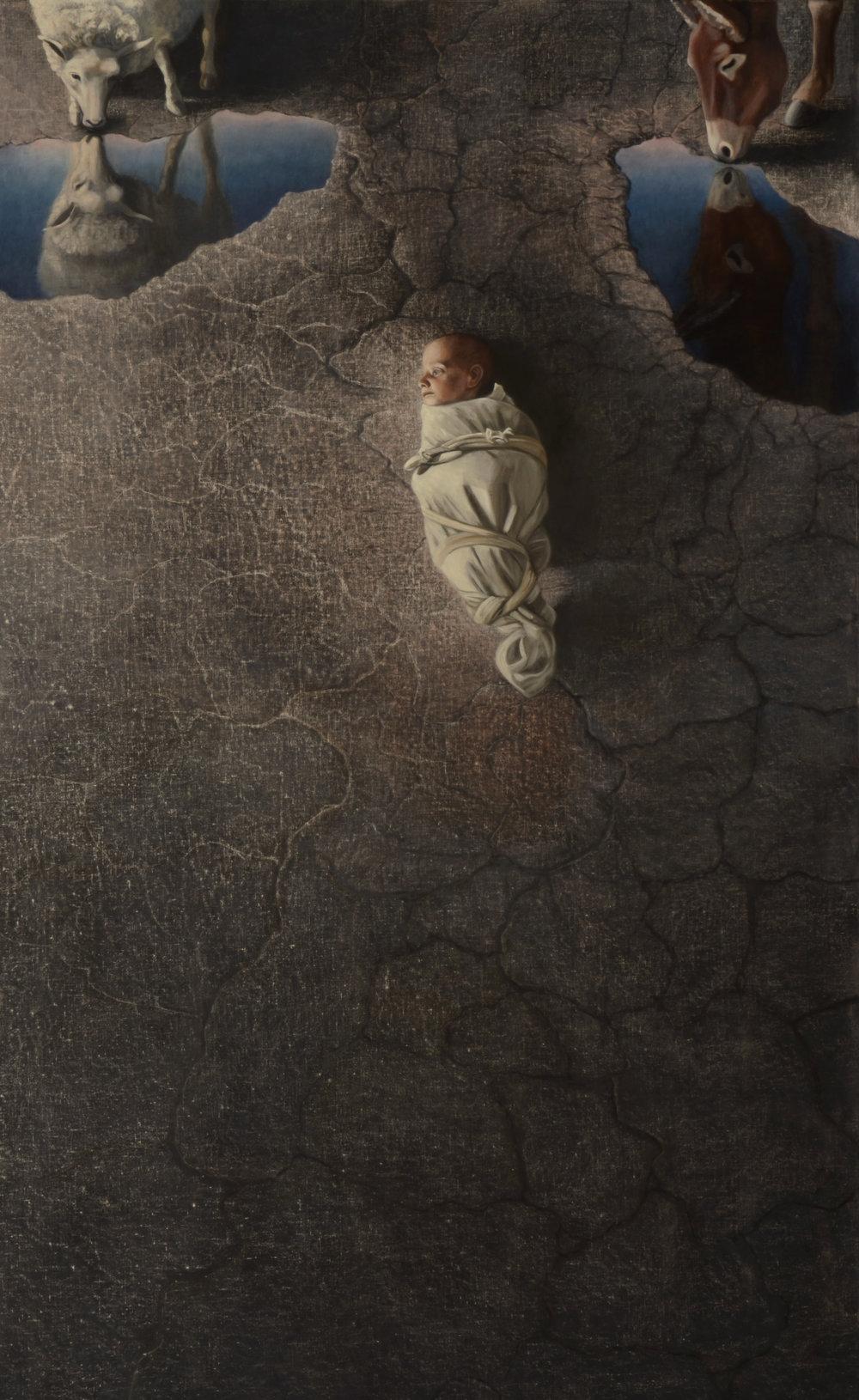 """O Magnum Mysterium     72x44""""     2012     (Sold)"""