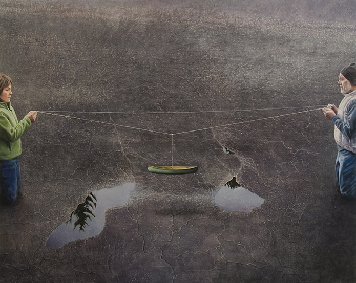 "Portage     56x70""     2011"