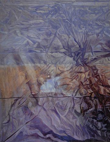"""Plastic Landscape 50x38"""" 2004"""