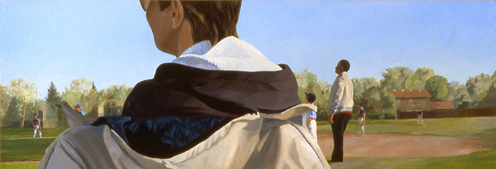 Landscape with Mother 16x48 1989