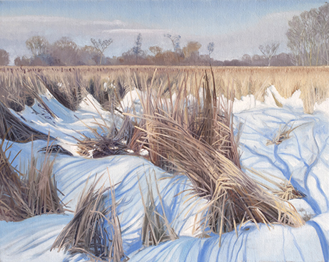 "March 4 Lincoln Marsh 16x20"" 2014 (sold)"