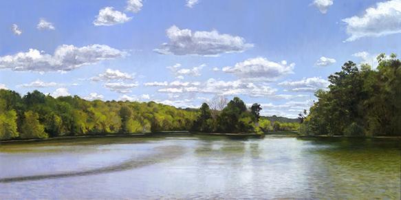 "Five Islands Duerr Park Fox River 18x36""  2016 (Sold)"